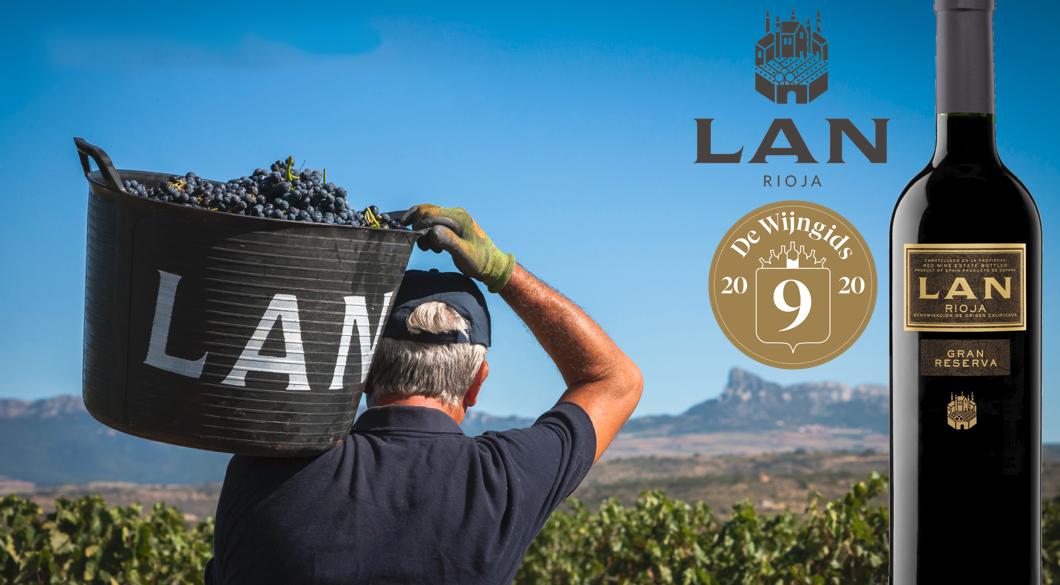 Topper onder de €25: Bodegas LAN Gran Reserva Rioja