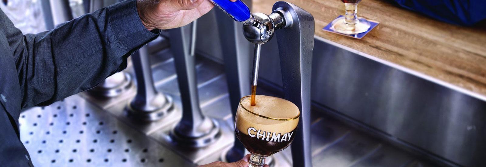 Chimay Blauw, het zwaarste bier uit het gamma